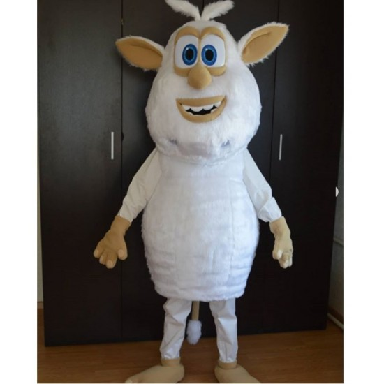 Yeti Booba Snowman Mascot Costume for Adults
