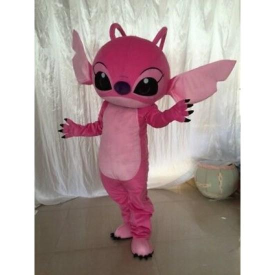 Lilo & Stitch Mascot Costume Pink Angel From