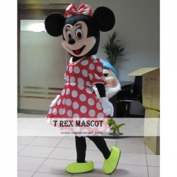 Adult Mickey / Minnie Mouse Mascot Costume