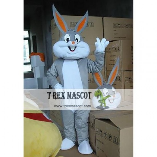 Adult Bugs Bunny Mascot Costume