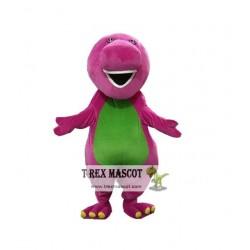 Adult Barney Mascot Costume