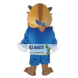 Adult Beast Mascot Costume