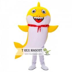 Adult Baby Shark Mascot Costume