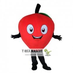 Adult Apple Mascot Costume