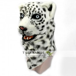Realistic Leopard Panther Fursuit Head Mask Mascot Head