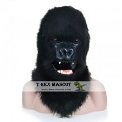 Realistic Chimpanzee Fursuit Head Mask Mascot Head
