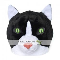 Realistic Cat Fursuit Head Mask Mascot Head