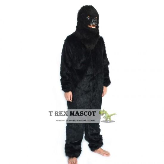 Realistic Chimpanzee Fursuit Mascot Costume