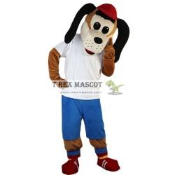 Sport Dog Mascot Costume for Adults