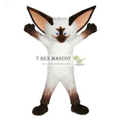 Adult Animal Cosplay Siamese Cat Mascot Fursuit Costume