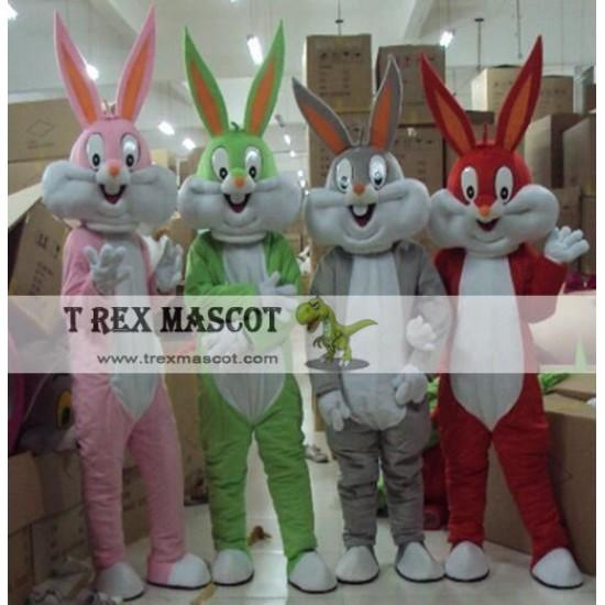 Bugs Bunny Cartoon Mascot Costume